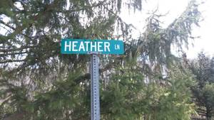 Heather ln sign