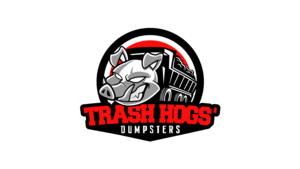 Trash hogs vertical logo
