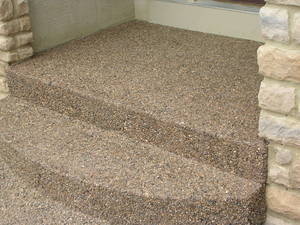 Concrete pads steps entryways columbus ohio