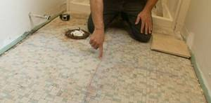 Tiling bathroom floor ideas