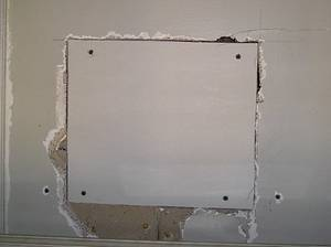 Artimg drywall repair furring strip drywall install