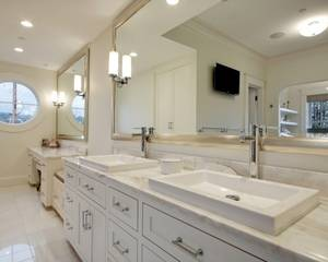 Bathrooms silver framed mirror white bathroom cabinet vanity stone bathroom ideas bathroom bathroom.com room rooms stone white bathroom white bathroom cabinet white bathro