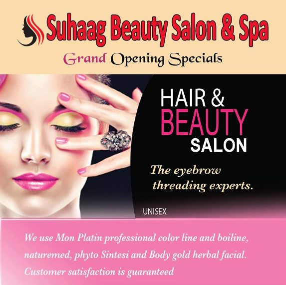 Day Spa In North York On 1 416 742 0981 Suhaag Beauty Salon