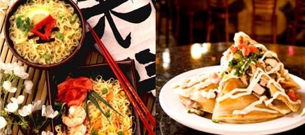 plains white Asian restaurant