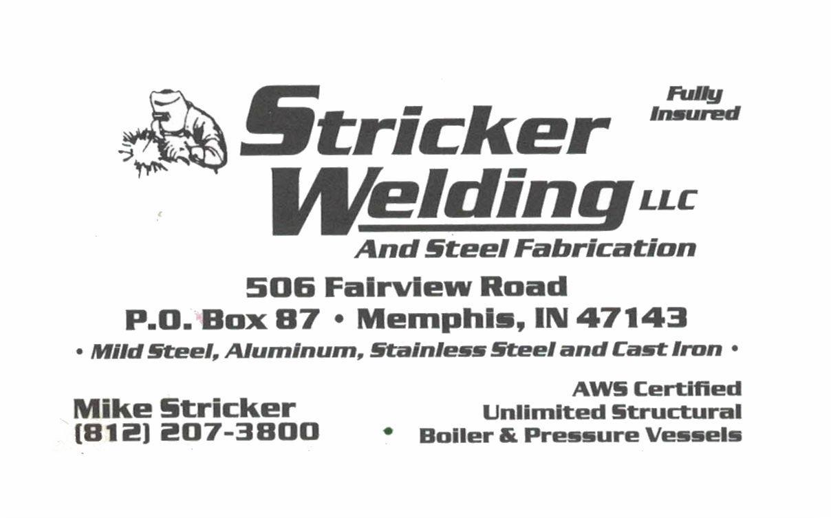 Welding Services in Louisville, KY | Stricker Welding & Steel ...