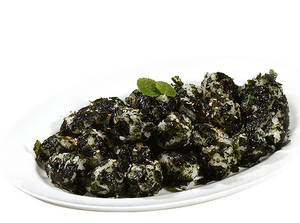 Seaweed rice ball