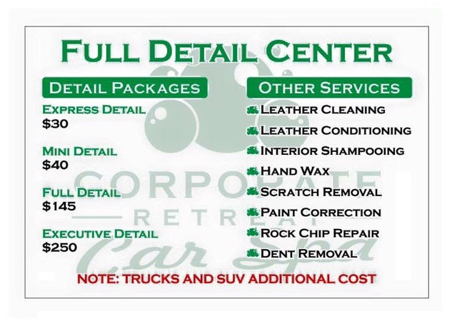 Car Detailing Cost >> Auto Detailing
