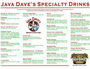 Jd drink menu 2015