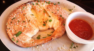 Menu three cheese calzone