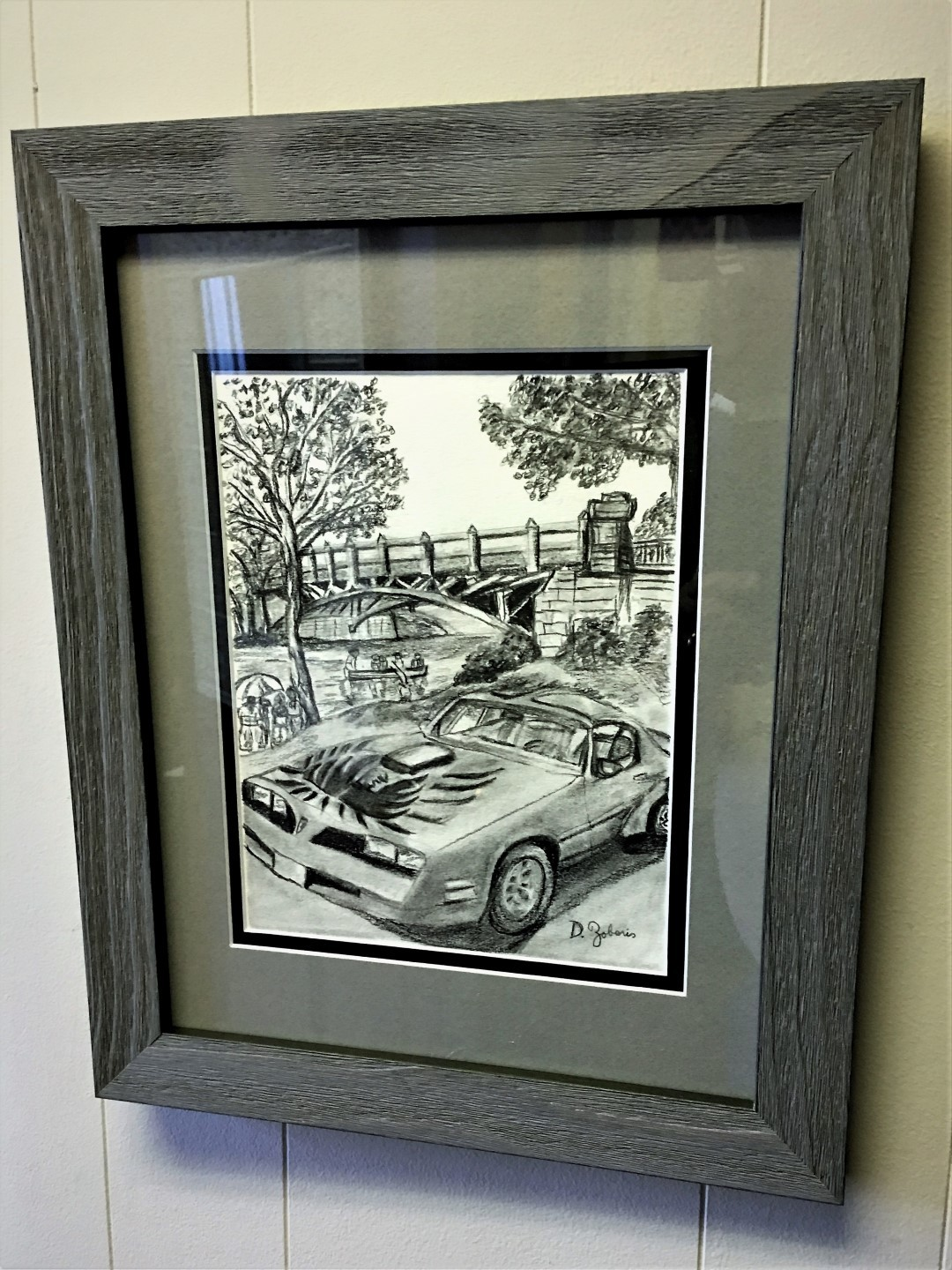 Martingale_Road_Framed_Graphite__Drawing