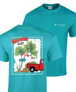 Avonlea watermelon fest tshirt tropical