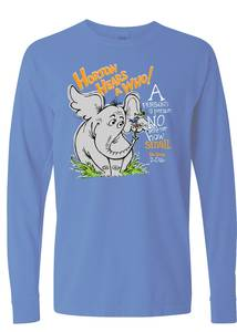 Horton hears a who tshirt proof carolina