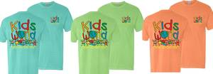 Kids world spring tshirts proof