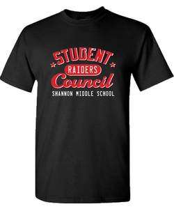 Shannon student council tshirt proof
