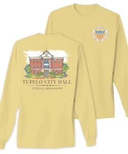 Tupelo city hall tshirt proof