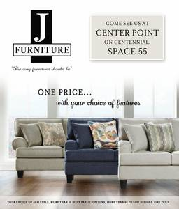 J furniture market mail out space 55