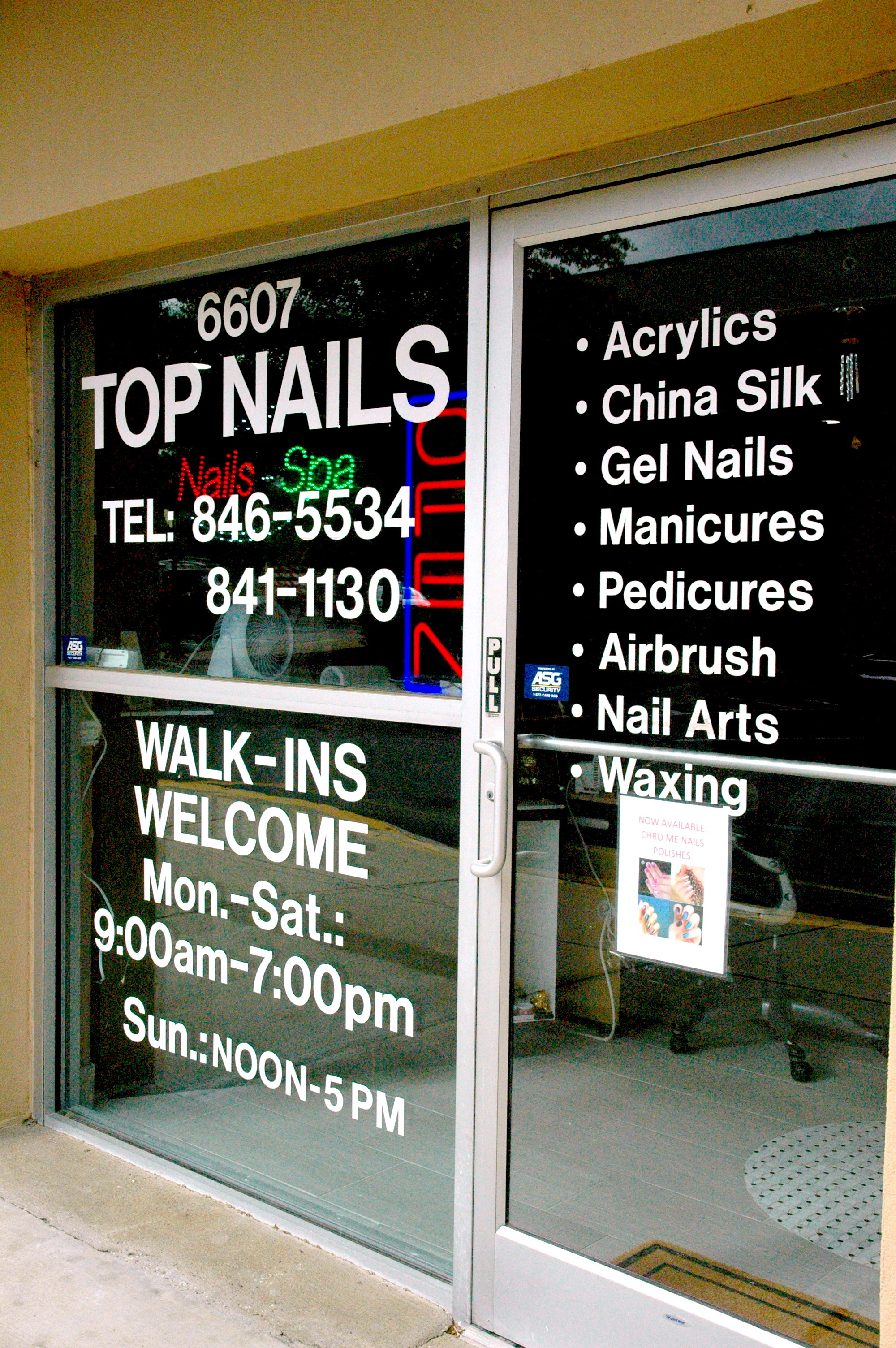 Full Service Nail Salon in Raleigh, NC | (919) 846-5534 Top Nails