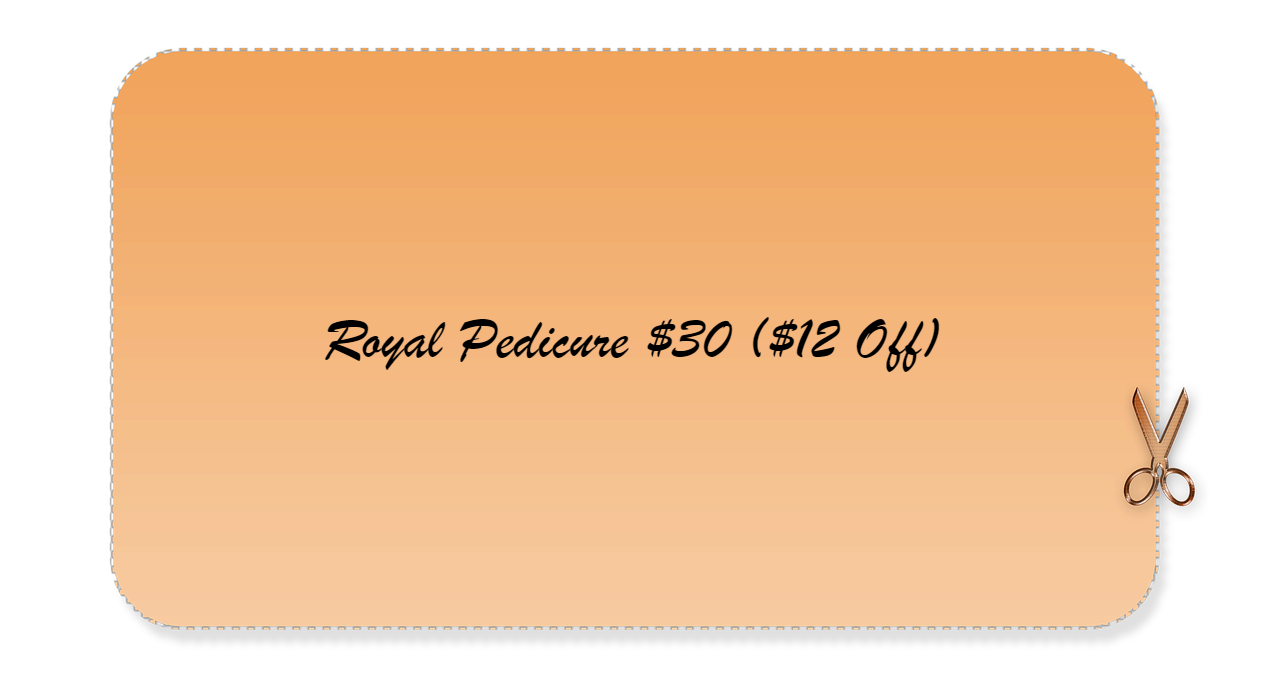 Royal Pedicure $30 ($12 Off)