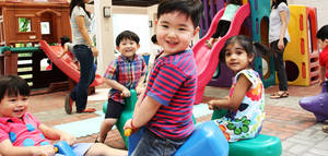 Preschool play ground philippines   the learning connection preschool