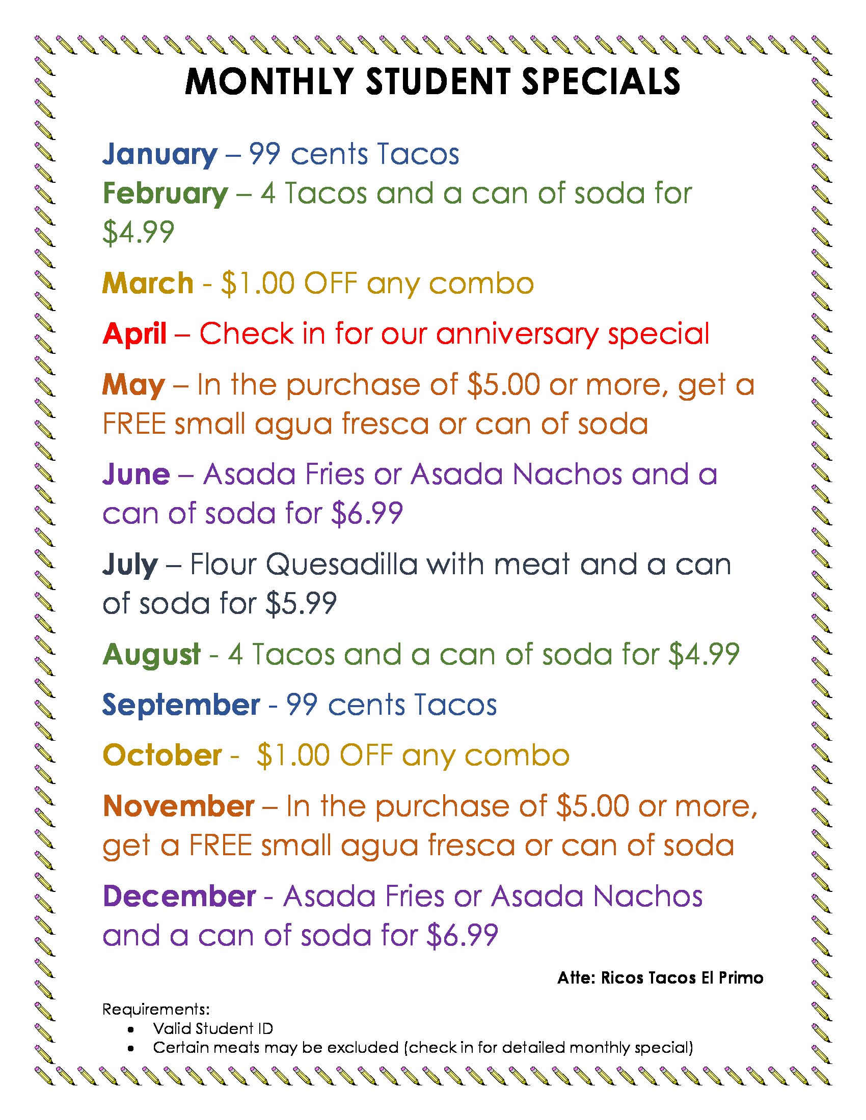 Ricos-Tacos-El-Primo-monthly-student-special