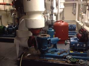 Multi boilers with over millions of btu each  and repairing pumps2