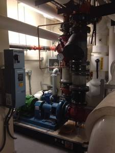 Multi boilers with over millions of btu each  and repairing pumps3