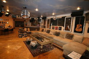 Eclectic family room (1)