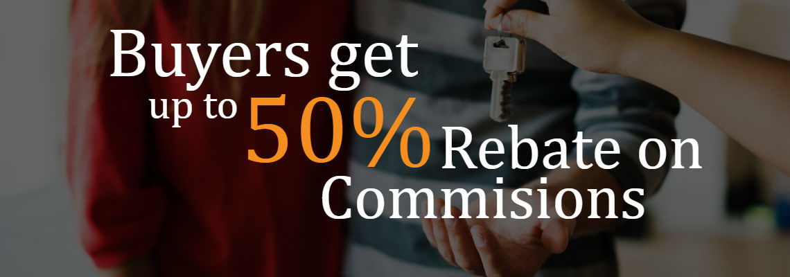Up to 50% back on commisions