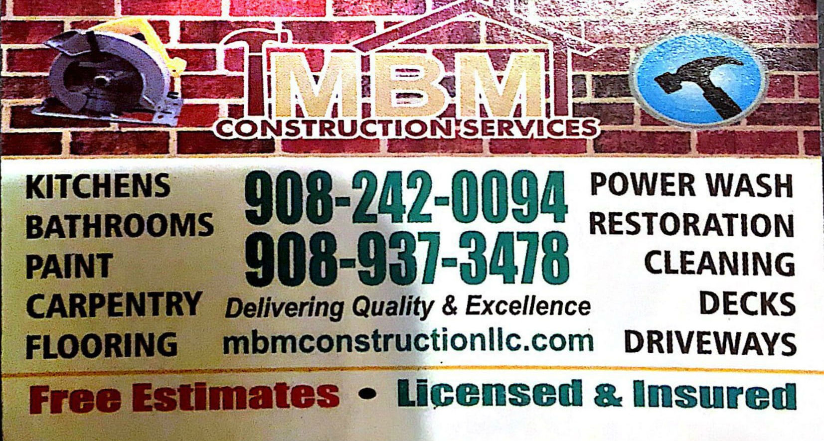 Residential Construction Company in Elizabeth, NJ | (908