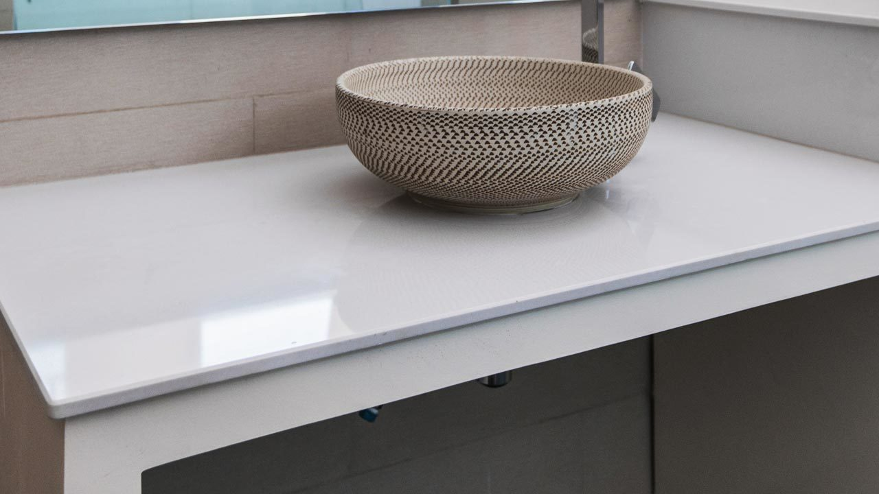 Porcelain Countertop Installation