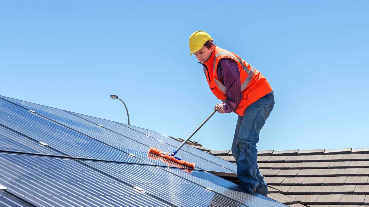 Solar Panel Residential Cleaning
