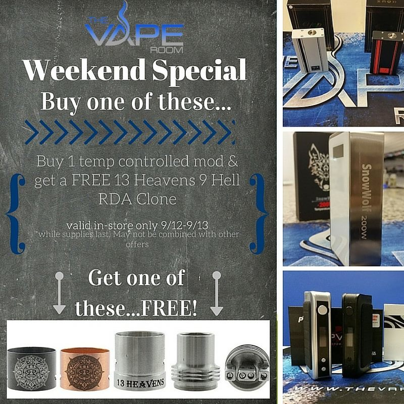 Vape Shop in Canal Winchester, OH | The Vape Room (614) 524-6444