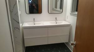 Copy of vanities installed