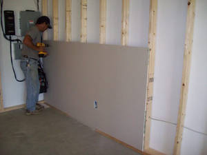 Drywall installation
