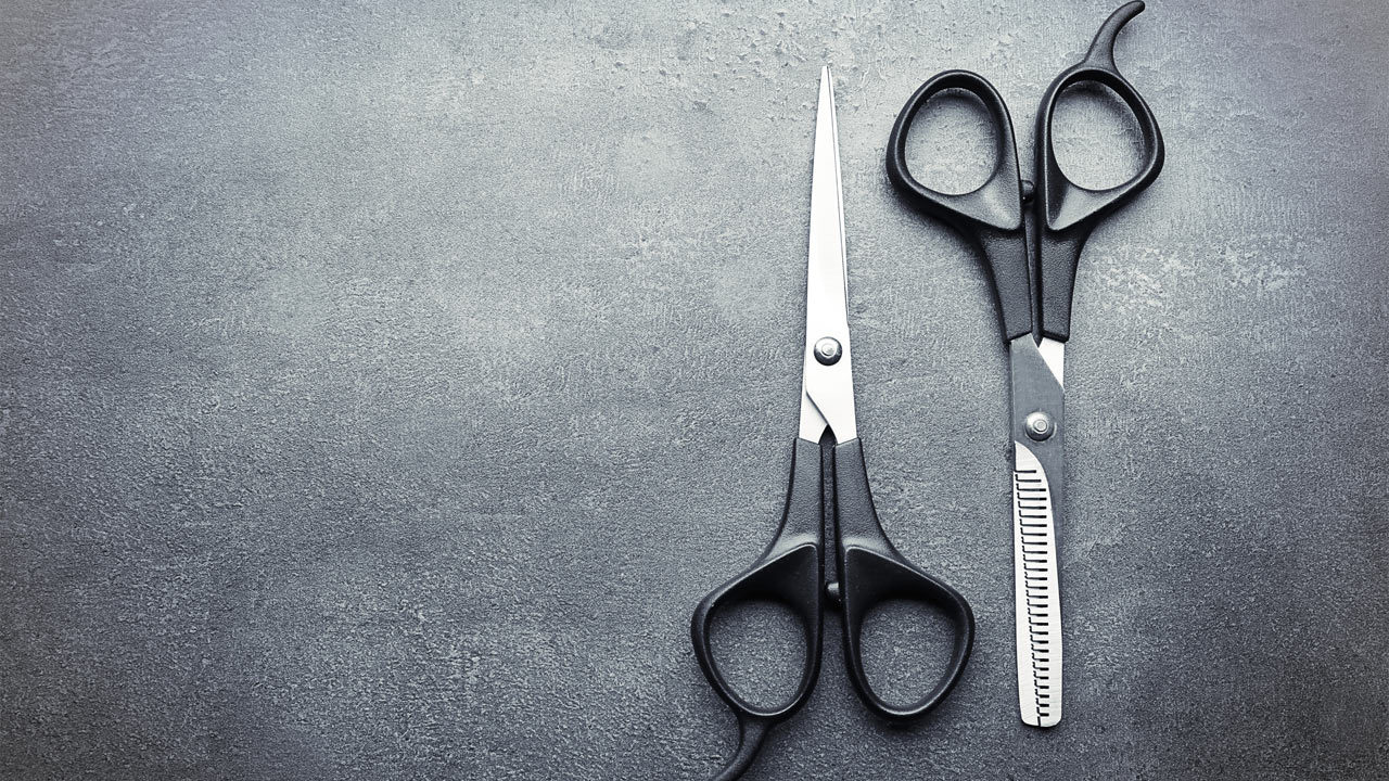 About barber scissors